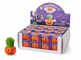 Grass Hair Kit - HALLOWEEN PUMPKIN POT SET OF 4