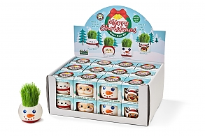 Grass Hair Kit - CHRISTMAS SET OF 4 WITH REINDEER